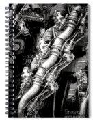 Pratt And Whitney Wasp Major  Spiral Notebook