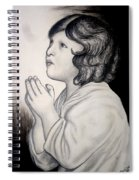 Prayer Is The Master-key Spiral Notebook