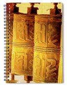 Prayer Wheels Spiral Notebook