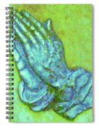 Prayer 3 Spiral Notebook