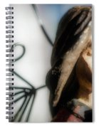 Prayerful Angel Spiral Notebook