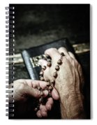 Praying For A Change Spiral Notebook