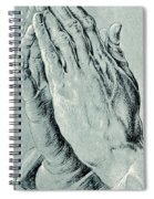 Praying Hands, Also Known As Study Of The Hands Of An Apostle  Spiral Notebook