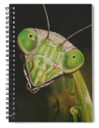 Praying Mantis Spiral Notebook