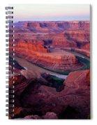 Dawn At Dead Horse Point Spiral Notebook