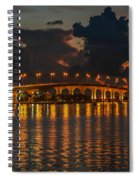 Pre-dawn Causeway View Spiral Notebook