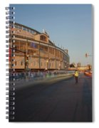 Pre-game Cubs Traffic Spiral Notebook