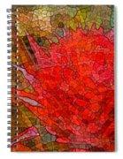 Bloom In Bits Spiral Notebook
