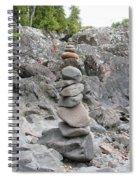 Precarious Spiral Notebook