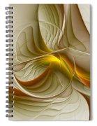 Precious Metals Spiral Notebook