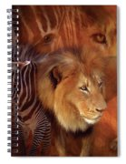 Predator And Prey Spiral Notebook