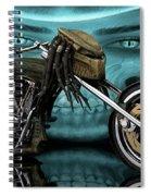 Predator Chopper Spiral Notebook