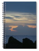 Predawn At The Jetty Spiral Notebook