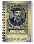 Predictions Of Nostradamus 4 Spiral Notebook