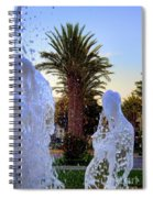 Pregnant Water Fairy Spiral Notebook