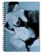 Pregnant Woman I Spiral Notebook