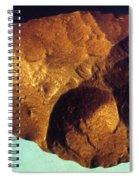 Prehistoric Flint Blade Spiral Notebook