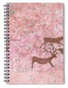 Prehistoric Hunter Spiral Notebook