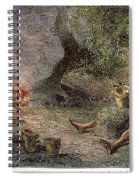 Prehistoric Man: Pottery Spiral Notebook
