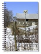 Premium Bird House View Spiral Notebook