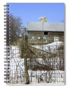 Premium Bird House View Spiral Notebook