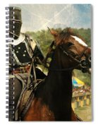 Prepare The Joust Spiral Notebook