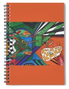 Angry Paincreas Spiral Notebook