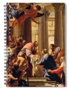 Presentation In The Temple Spiral Notebook