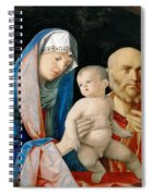 Presentation Of Christ In The Temple Spiral Notebook