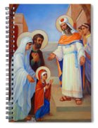 Presentation Of Mary In The Temple  Spiral Notebook