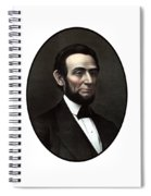 President Abraham Lincoln  Spiral Notebook