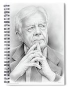 President Carter Spiral Notebook