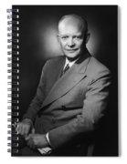 President Dwight Eisenhower - Three Spiral Notebook