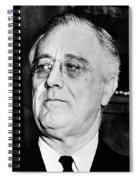 President Franklin Delano Roosevelt Spiral Notebook