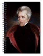 President Jackson Spiral Notebook