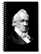 President James Buchanan Graphic Spiral Notebook