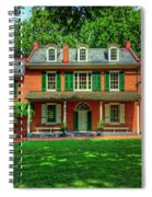 President James Buchanan's Wheatland Spiral Notebook