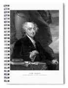 President John Adams - Three Spiral Notebook
