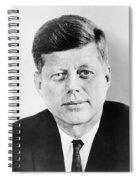 President John F. Kennedy Spiral Notebook