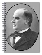 President Mckinley Spiral Notebook