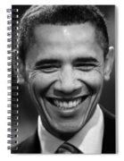 President Obama V Spiral Notebook