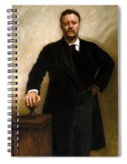 President Theodore Roosevelt Painting Spiral Notebook