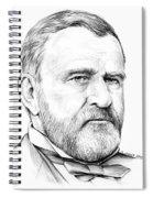 President Ulysses S Grant Spiral Notebook