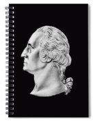 President Washington Bust  Spiral Notebook
