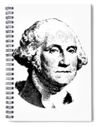 President Washington Spiral Notebook
