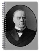 President William Mckinley  Spiral Notebook