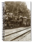 President William Mckinleys Presidential Locomotive No. 1456  May 1901 Spiral Notebook