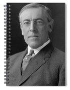 President Woodrow Wilson Spiral Notebook