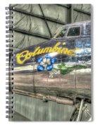 Presidential Aircraft - Lockheed Vc-121e Columbine Spiral Notebook