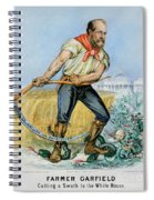Presidential Campaign, 1880 Spiral Notebook